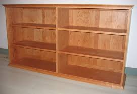 Cherry Wood Bookcase With Doors Wood Choices Handmade Furniture Mission Furniture