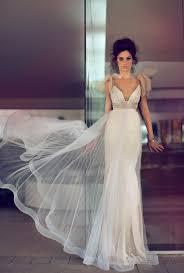 two color wedding dress modern glamourous wedding dresses by zahavit tshuba