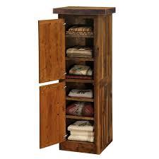 Reclaimed Wood Storage Cabinet Furniture Bathroom Linen Floor Cabinets Linen Cabinet
