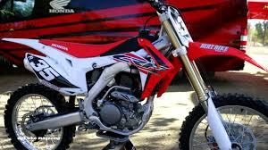 honda motocross racing 2017 honda crf 250 dirt bike magazine youtube