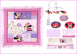 Minnie Mouse Infant Bedding Set Minnie Mouse Crib Bedding Minnie Mouse Butterfly Dreams Piece Crib