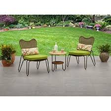 Small Space Patio Furniture Sets Mainstays Mckenna Patio Furniture 3