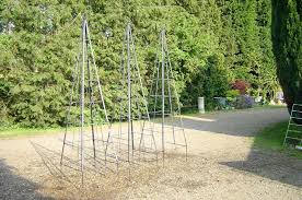 garden obelisks metal u2013 satuska co