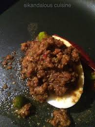 gem cuisine sikandalous cuisine mutton podimas keema mutton