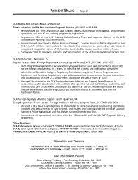 police detective resume resume vincent balbo