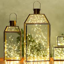 decorating the room with the unique decorative lanterns