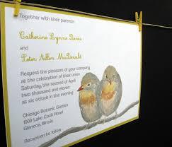 splendid love birds wedding invitations michaels invitations ideas