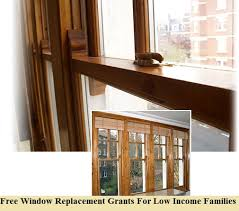 how to apply free window replacement grants for low income families
