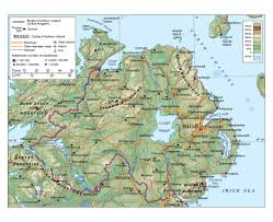 Map Of Northern Europe by Maps Of Ireland Detailed Map Of Ireland In English Tourist Map