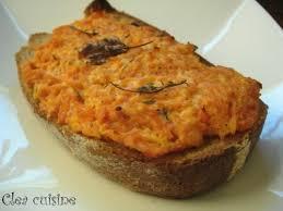 inventer une recette de cuisine tartines aux carottes fondantes et aux chèvres marinés cuisine