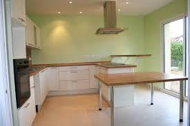 univers cuisine mur vert pomme
