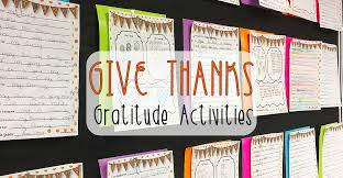 give thanks gratitude activities for thanksgiving live laugh