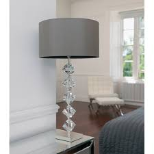 Glass Table Lamps Lamps Contemporary Glass Table Lamp Shade Modern Table Lamp For