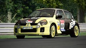 renault clio v6 rally car assetto corsa renault clio v6 255hp phase 2 nordschleife youtube