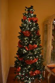 modest decoration christmas tree mesh ribbon home decorating