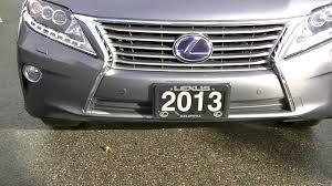 2013 lexus hybrid warranty 2013 lexus rx 450h video 001 youtube