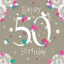 happy 50th birthday wishes messages and quotes for facebook