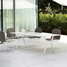 Modern Garden Table Varaschin Deer Modern Design Outdoor Dining Table 240x100 Cm