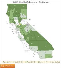 Ca County Map California Rankings Data County Health Rankings U0026 Roadmaps