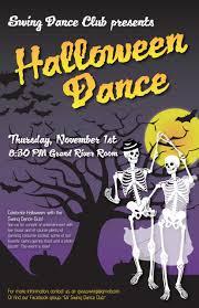halloween dance poster shealyn mcgee