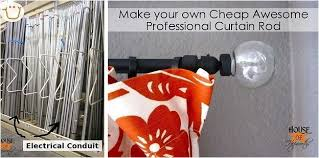 Expensive Curtain Rods Spray Painting Metal Curtain Rods Integralbook Com