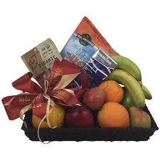 healthy snack gift basket healthy fruit basket and organic gourmet my baskets toronto