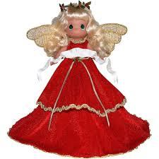 christmas tree angel christmas gift oh christmas tree angel tree topper vinyl doll