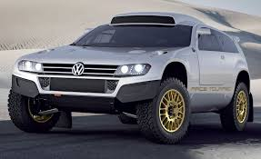 volkswagen race car volkswagen unveils special race 24 carat gold touaregs in qatar