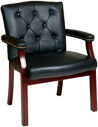 Office Star Leather Chair Bedroom Lovely Office Star Traditional Leather Guest Chair