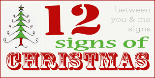 christmas signs 12 days of christmas signs and a discount code finding home farms