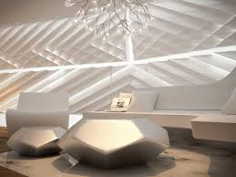 Home Interior Design Unique by Futuristic Interior Design