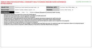 Community Health Nurse Resume Cover Letter For Educational Diagnostician Cover Letter Templates