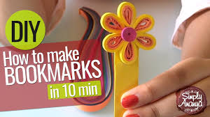 how to make bookmarks in 10 min diy art u0026 craft ideas for kids