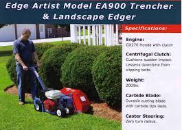 ea900 landscape edger bed maker ez trencher honda engine