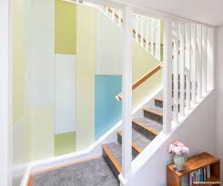 Paint Colours For Hallways And Stairs by Hallway Decorating Tricks Habitat By Resene