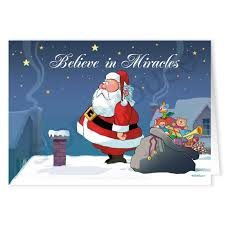 believe in miracles funny christmas card stonehouse collection