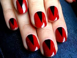 red black nail polish designshttp nails side blogspot com