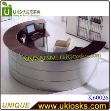 Circle Reception Desk by Modern Office Reception Counter Design Reception Counter Design