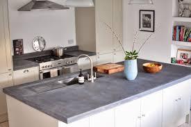 beton ciré pour cuisine plan de travail en béton ciré photos supers et conseils diy