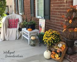 Fall Porch Decorating Ideas Fall Front Porch Decor Intelligent Domestications