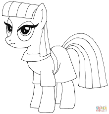 pony pinkie pie coloring free printable coloring