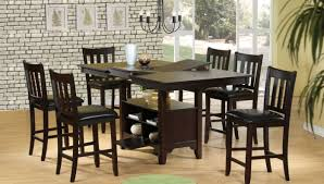 Dining Room Bar Table by High Dining Room Set Stanton Cherry 5 Pc Counter Height Dining