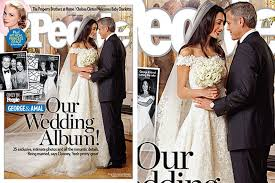 Wedding Album Cost George Clooney And Amal Alamuddin U0027s Wedding Cost How Much Plus