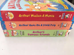 find more 3 arthur vhs videos titles makes a movie goes on a