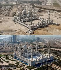 here u0027s how abu dhabi u0027s sheikh zayed grand mosque was built photos