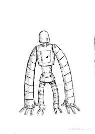 robot idea sketch by sprojler on deviantart