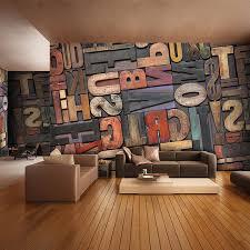 canape geant 3d géant photo papier peint lettre nombre mur murale personnalité