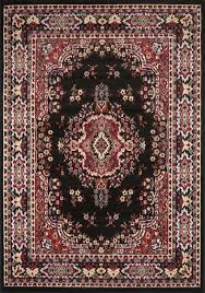 Area Rugs And Carpets Black Area Rug 4 X 6 Small Carpet 69 Actual 3