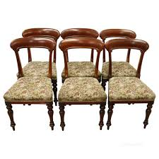 Antique Dining Chairs Set Of 6 Scottish Victorian Dining Chairs Antiques Atlas