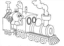 mole steam train coloring jpg 600 436 ausmalbild